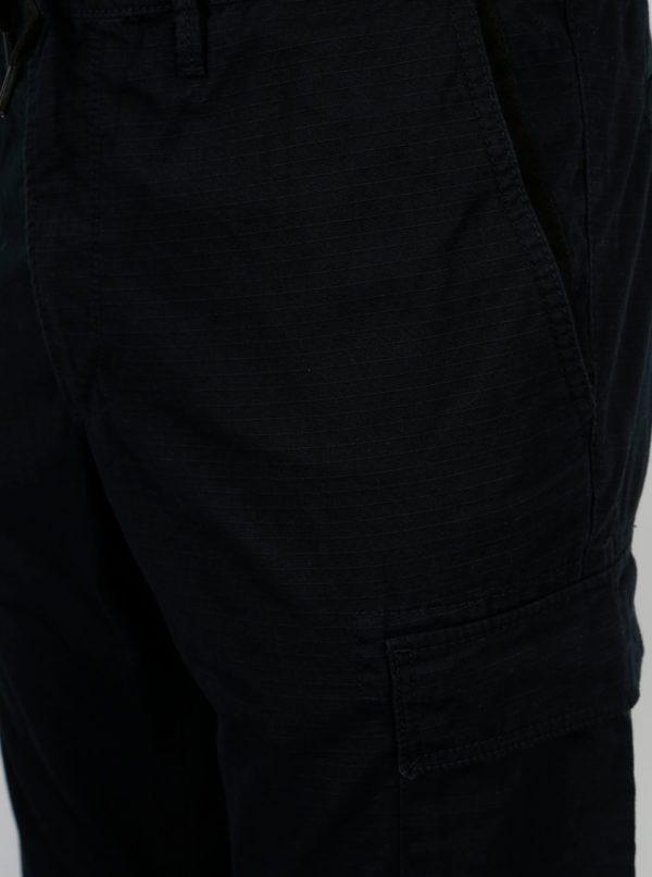Tmavomodré pánske regular fit nohavice s vreckami s.Oliver