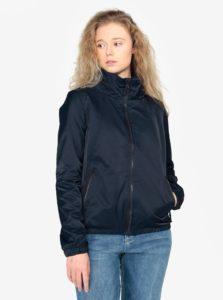Tmavomodrá dámska bunda so skrytou kapucňou QS by s.Oliver