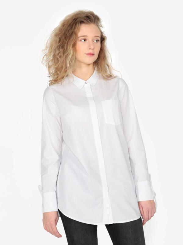 Biela dámska dlhá košeľa s.Oliver