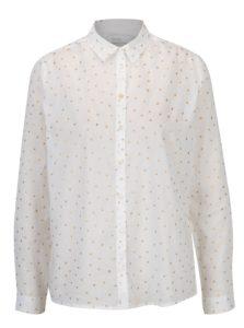 Biela košeľa s hviezdami Yerse