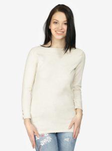 Krémový sveter Haily's Lissy