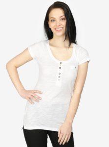 Biele tričko s krátkym rukávom Haily's Edda