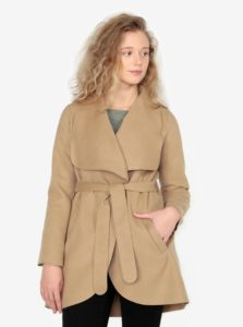 Béžový tenký kabát ZOOT