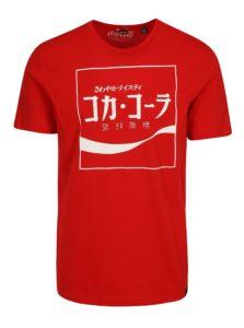 Červené tričko s potlačou ONLY & SONS Coca Cola