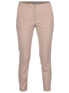 Staroružové nohavice so zipsom na nohaviciach Selected Femme Muse