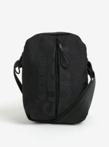 Čierna pánska crossbody taška Superdry