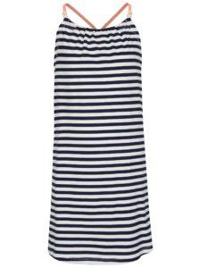 Bielo-modré dievčenské pruhované šaty name it Zathrine