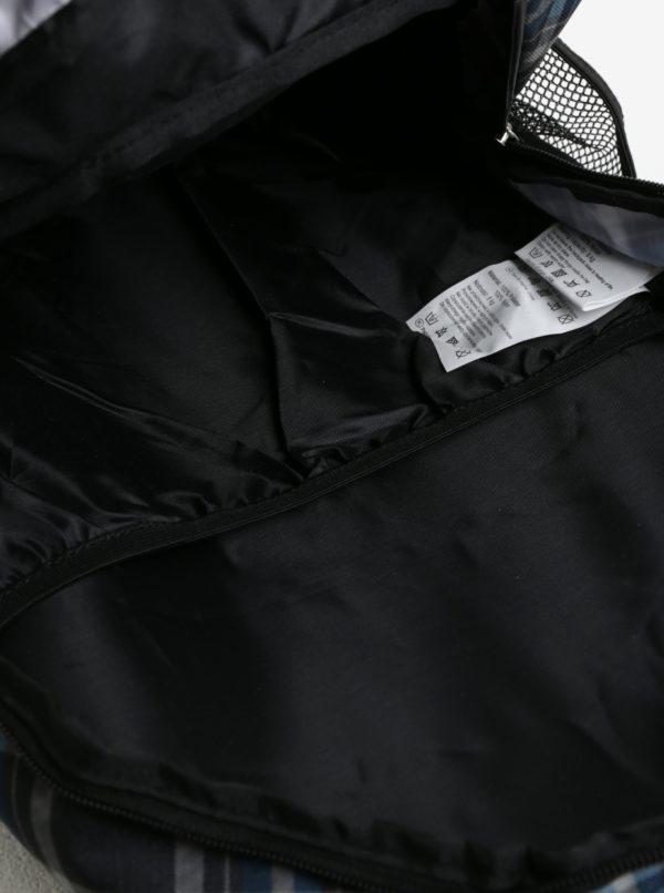 Sivo-modrý károvaný batoh LOAP Reny 20 l