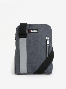Sivá crossbody kabelka s reflexným prvkom LOAP Sting