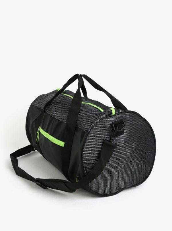 Čierna oválna športová taška LOAP Leonte