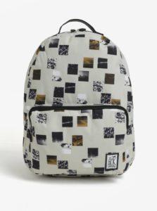 Béžový batoh s farebnou potlačou The Pack Society 18 l