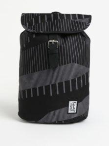 Sivo-čierny batoh s potlačou The Pack Society 10 l