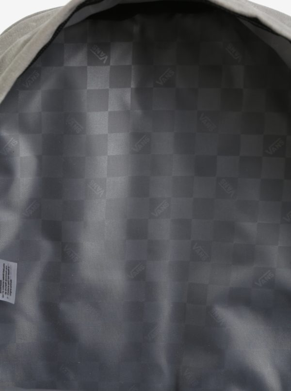 Sivý pánsky melírovaný batoh 23 l VANS Old Skool Plus