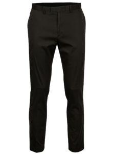 Tmavosivé skinny fit nohavice Burton Menswear London