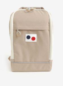 Béžový vodovzdorný batoh z recyklovaného materiálu pinqponq Cubik small pure 15 l