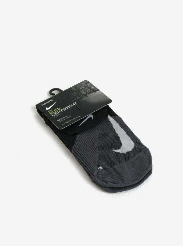 Čierne unisex funkčné ponožky Nike Elite Lightweigh