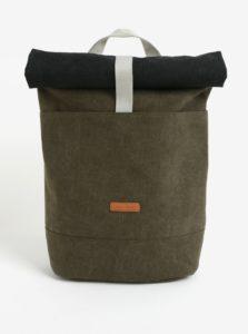 Kaki vodovzdorný batoh z recyklovaného materiálu Ucon Hajo 20 l