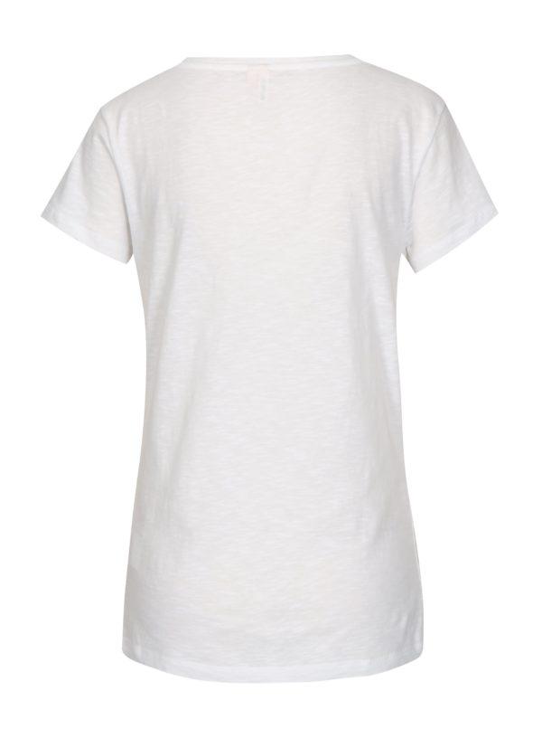 Biele dámske tričko s potlačou Rip Curl