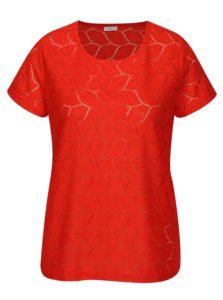 Červená vzorovaná blúzka Jacqueline de Yong Tag