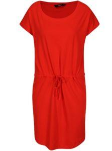 Červené šaty s krátkym rukávom ONLY May