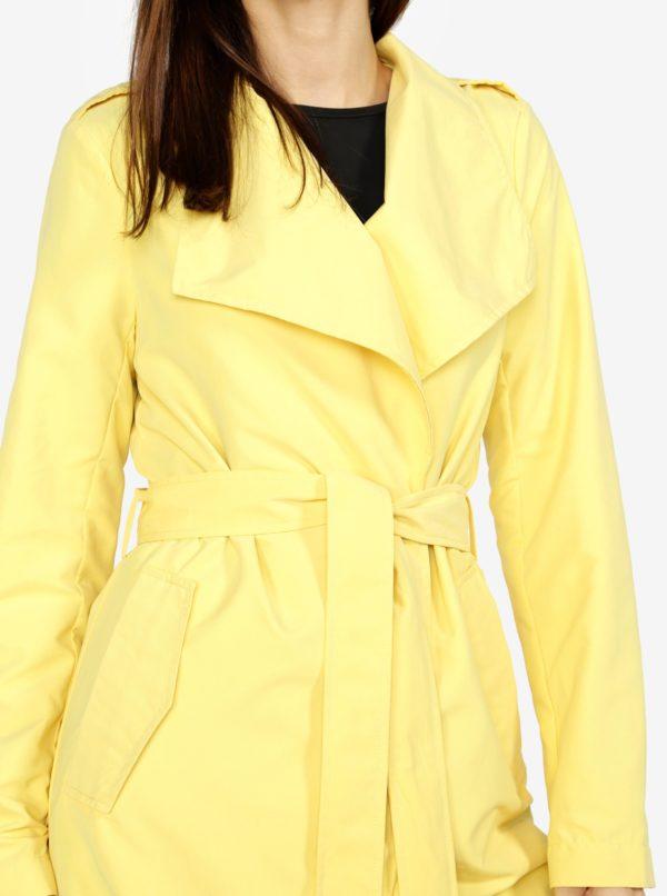 Žltý kabát VERO MODA Elina