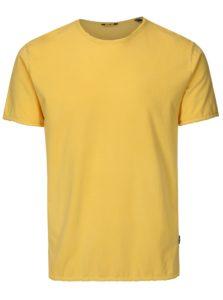 Žlté basic tričko ONLY & SONS Albert