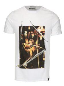 Biele tričko s potlačou ONLY & SONS Kill Bill