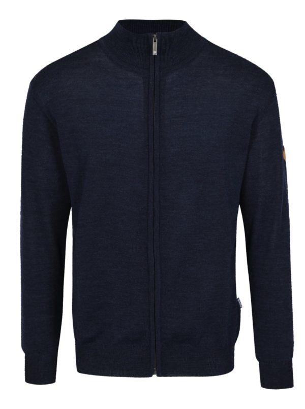 Tmavomodrý sveter z Merino vlny Kama