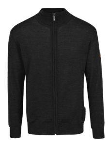 Tmavosivý sveter z Merino vlny Kama