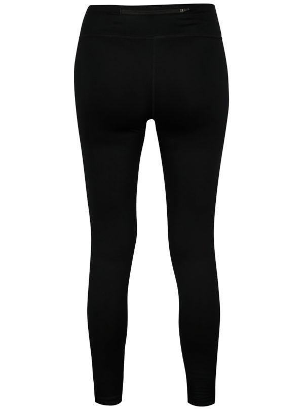 Čierne skrátené dámske funkčné legíny Nike PWR ESSNTL TGHT