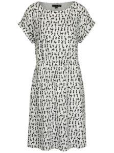 Biele áčkové vzorované šaty Smashed Lemon