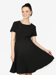 Čierne áčkové šaty Haily's Hanna