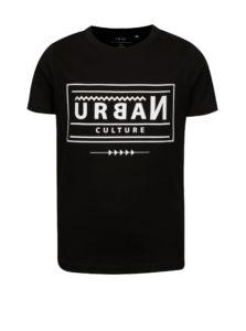 Čierne chlapčenské tričko s potlačou LIMITED by name it Victorro