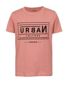Ružové chlapčenské tričko s potlačou LIMITED by name it Victorro