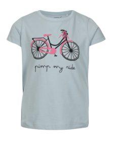 a9352d2629ed Modré dievčenské tričko s potlačou name it Veen