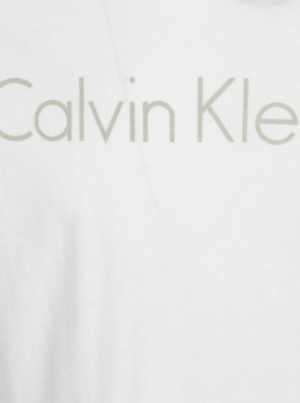 Biele pánske slim fit tričko Calvin Klein Jeans Treasure