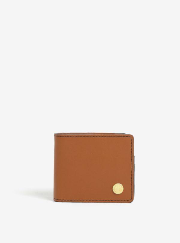 Hnedá pánska kožená peňaženka Herschel Vincent
