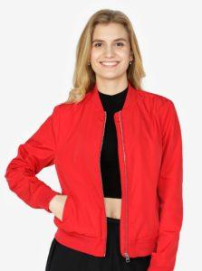 Červený dámsky bomber Calvin Klein Jeans Owrana