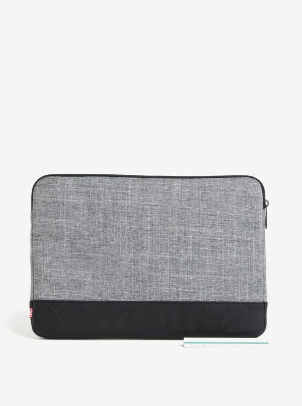"Čierno-sivý obal na notebook Herschel Heritage 13"""