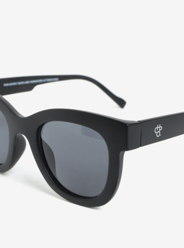 Čierne dámske slnečné okuliare CHPO Marais