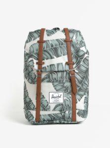 Béžový batoh s potlačou Herschel Retreat 19,5 l