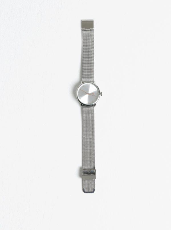 Dámske hodinky v striebornej farbe CHPO Nando Mini Rose