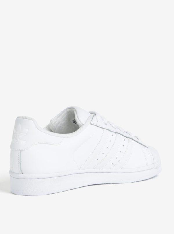 Biele unisex tenisky adidas Originals Superstar
