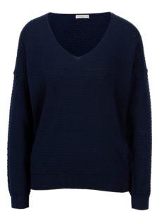 Tmavomodrý vzorovaný sveter Jacqueline de Yong Barbera