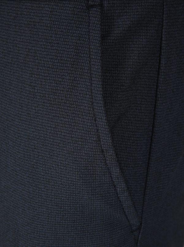 Tmavomodré nohavice Selected Homme Skinny-Nate