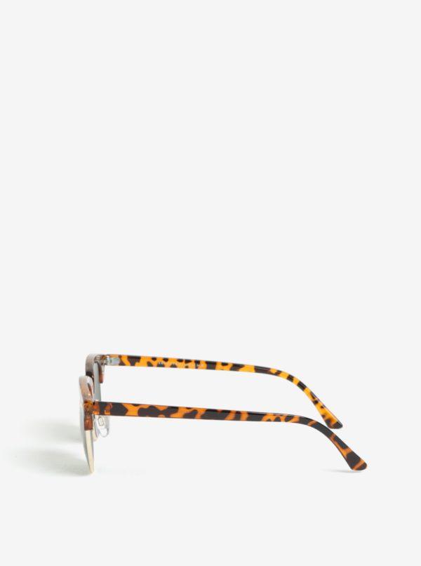Čierno-hnedé slnečné okuliare Selected Homme Steven