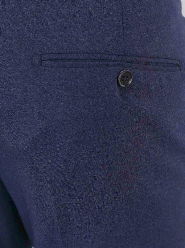 Tmavomodré oblekové nohavice Selected Homme One