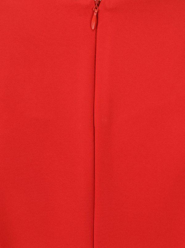 Červená blúzka s mašľami NISSA