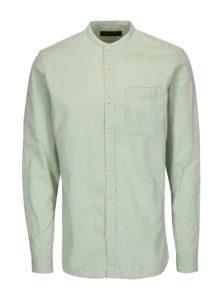 Svetlozelená slim fit košeľa Jack & Jones Kevin