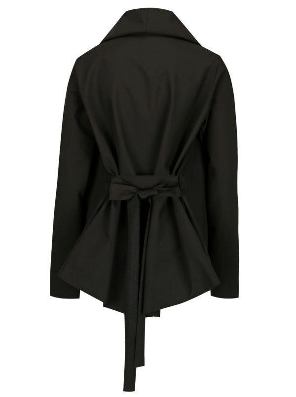 Čierne variabilné vodovzdorné sako Design by Lucie Jack Black